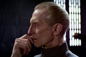 To most of the galaxy, Tarkin is remembered as the man who murdered Alderaan.  To a few he's remembered as a noble military genius.  Who's right?  Hint: Its the ones that remember him blowing up an innocent planet as an interrogation tactic.