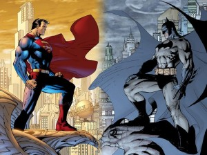 Obligatory use of Jim Lee contrasting cover pic for Batman v Superman discussions.