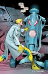 Instead of being content with mastering the nature of the universe, Hank Pym built a genocidal robot.  Good job, dude.