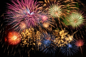 Ba-BOOM!  4th of July is everything great about America: Massive availability of explosives.