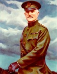 Like most Nebraskans to this day, General Pershing believed flash photography caused testicular cancer and would only allow water-color portraits of himself.