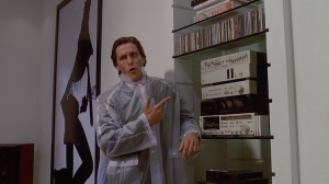 George's favorite movie is American Psycho.  We felt that was relevant to share because he just would not shut up about it.