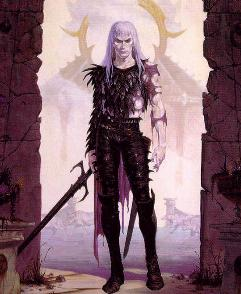 Oh, you're an over-proud, mopey, warrior with a soul-drinking, sentient, black sword who's banging a blood relation and getting his ass kicked by fate? You're so original Elric. And emo.