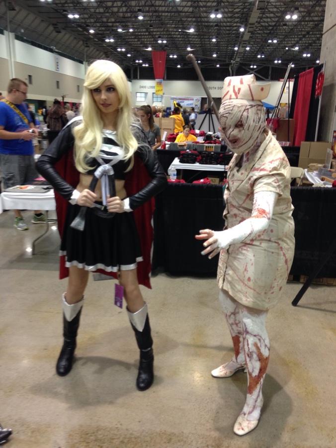 Dark Supergirl & Silent Hill Nurse